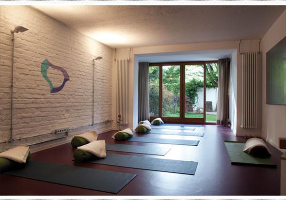 Unser Studio: ein Wohlfühlraum mit Gartenblick.