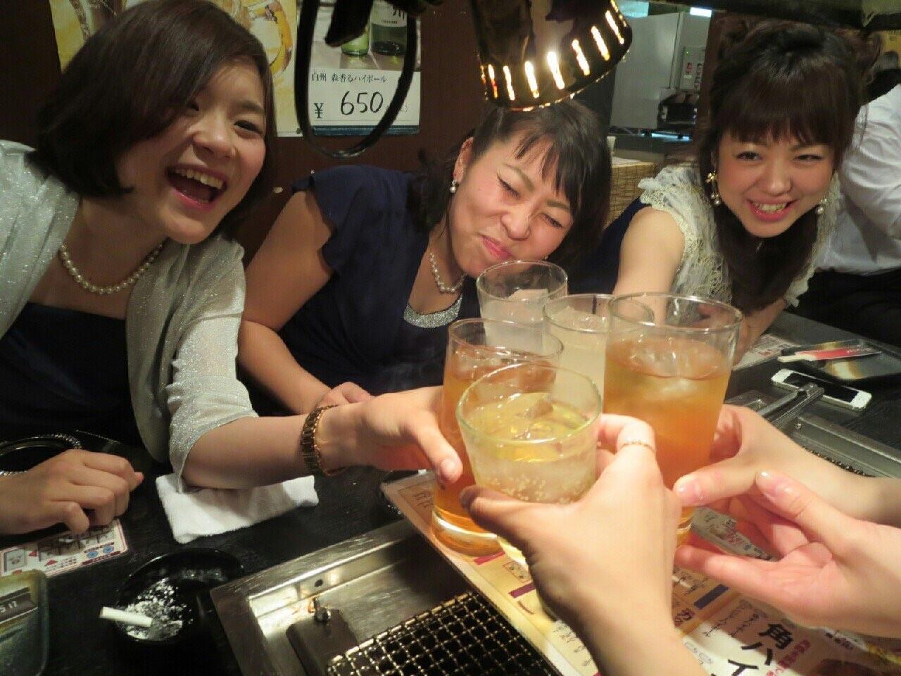 何度目か分からない乾杯も幸せですね(o゚c_,゚o )