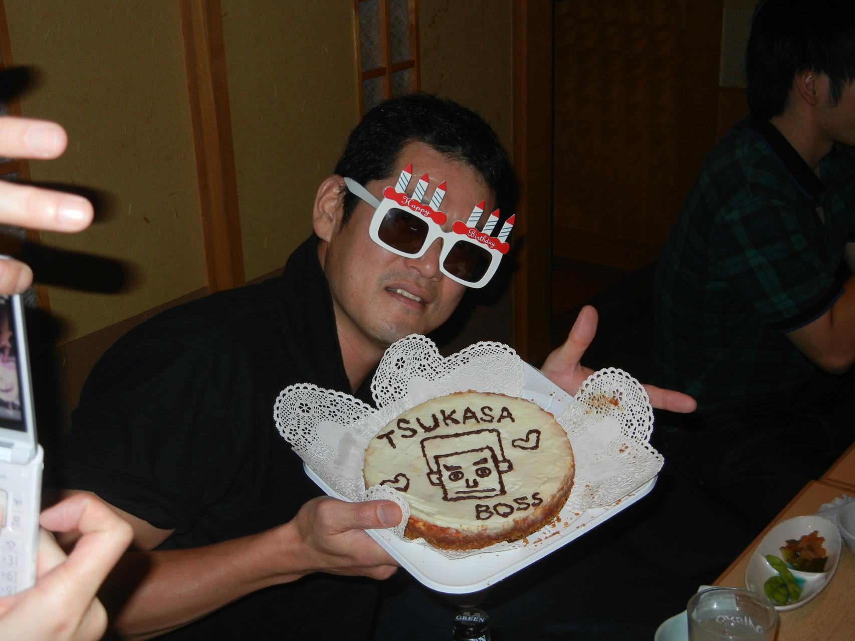 BOSS☆おめでとうございます!!