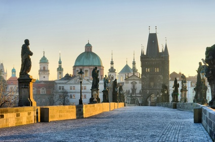 Charles Bridge Prague Czech Republic private city tour