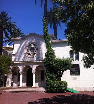 Cannes Synagogue Jewish Tour