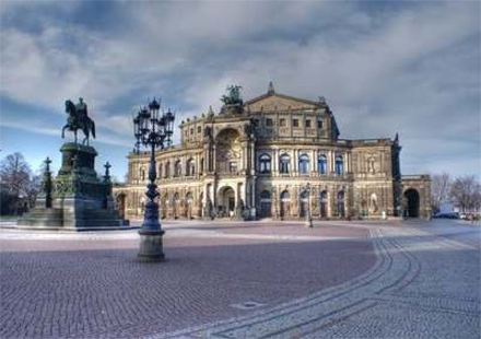 The Semperoper Dresden Germany private city tour