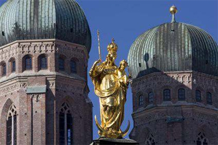 Munich Cathedral Germany private city tour