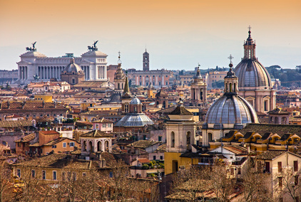 Roofs of Rome Italy private city tour