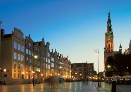 Town Hall and the Market Place Gdansk Poland private city tour