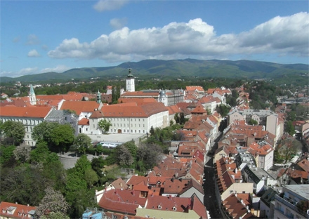 Roofs of Zagreb Croatia private city tour
