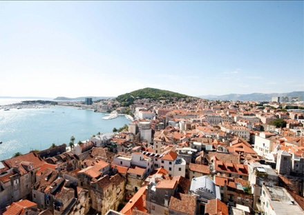 Panorama of Split Croatia private city tour