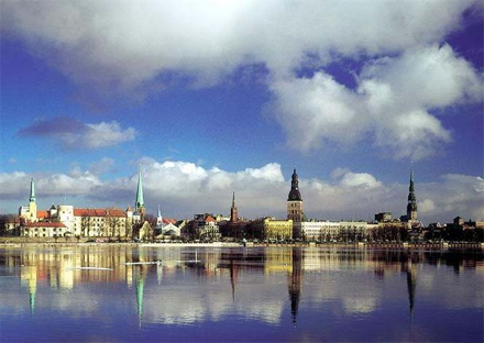 Riga from the River Latvia private city tours