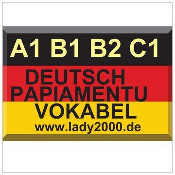 bestellen WhatsApp 015211881212 E-Mail papiamenti@lady2000.de