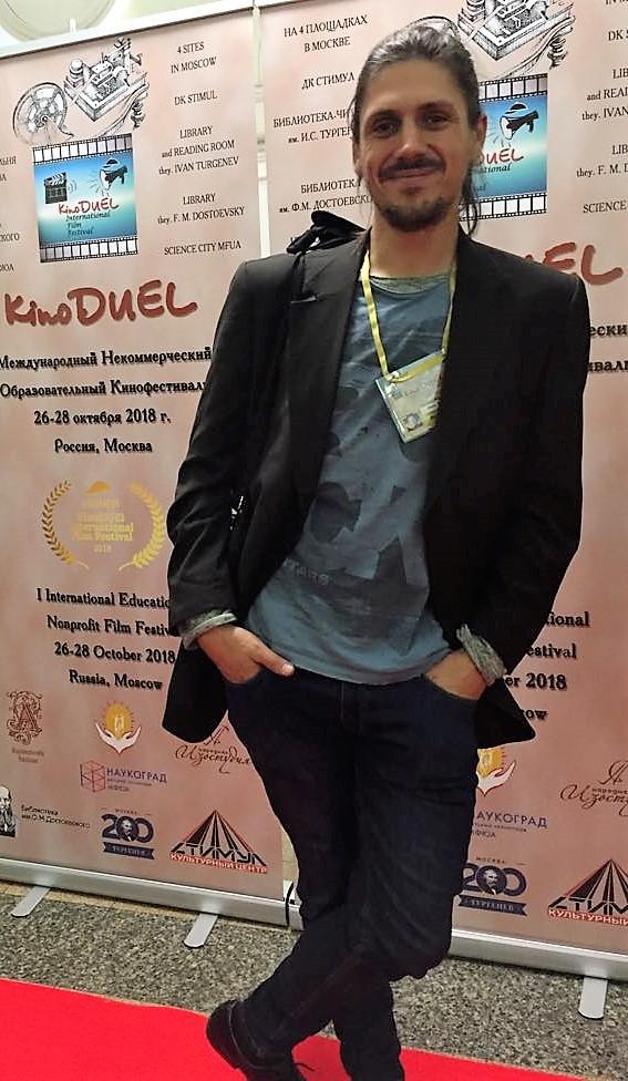 Otwin Biernat @ KinoDUEL International Film Festival 2018
