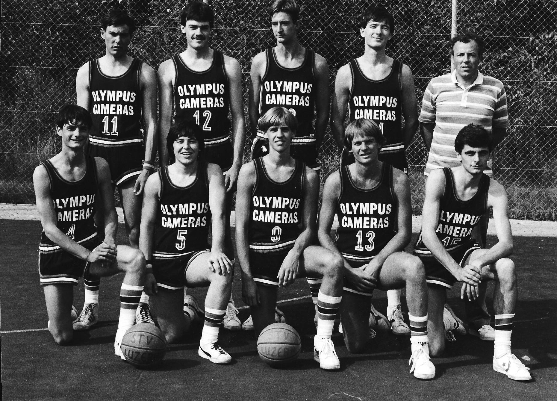 1980/1981 - STV Luzern Herren mit Rick Taylor (13)