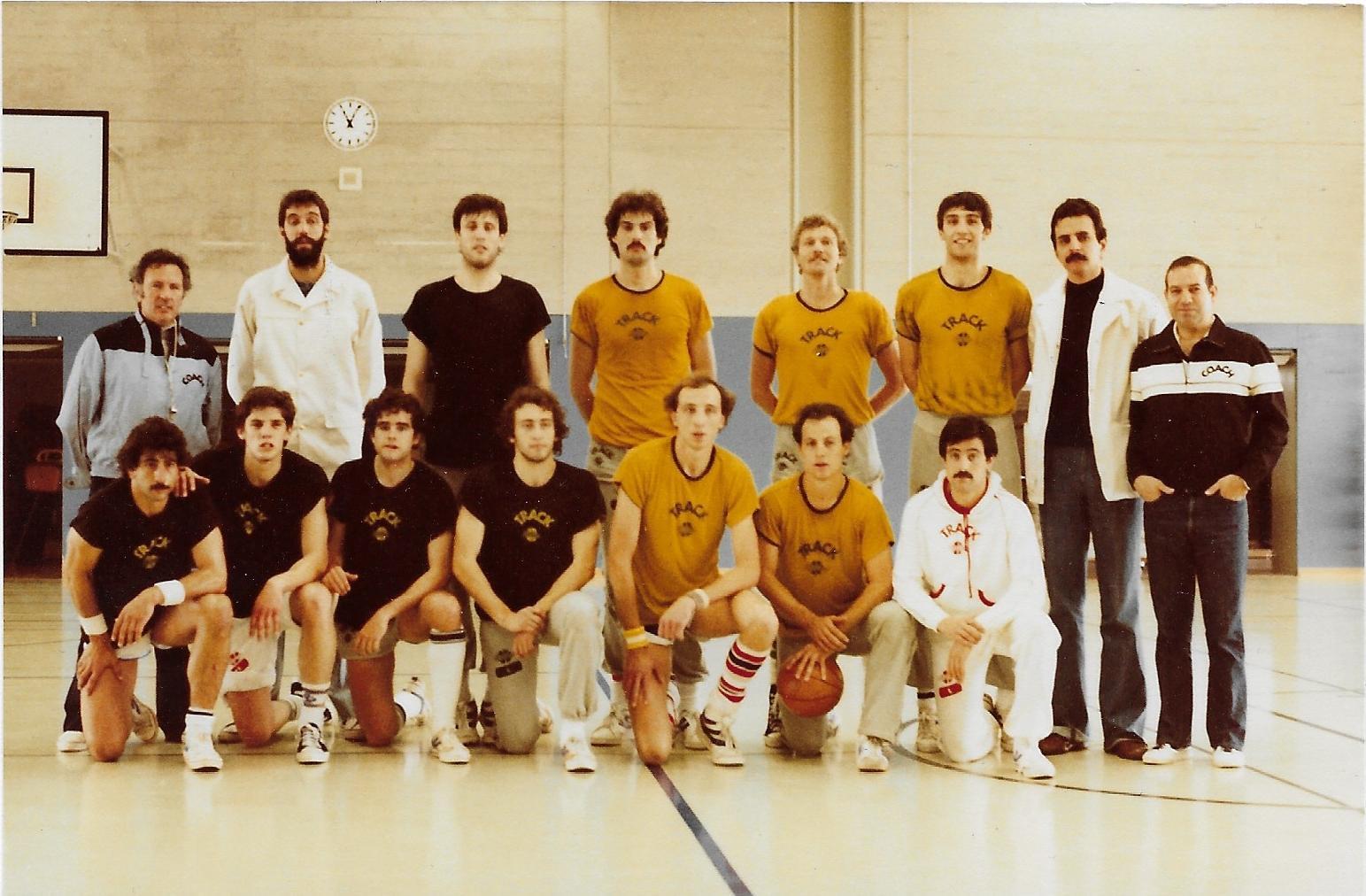 1980 - Spanische Nationalmannschaft zu Gast in der Wartegg