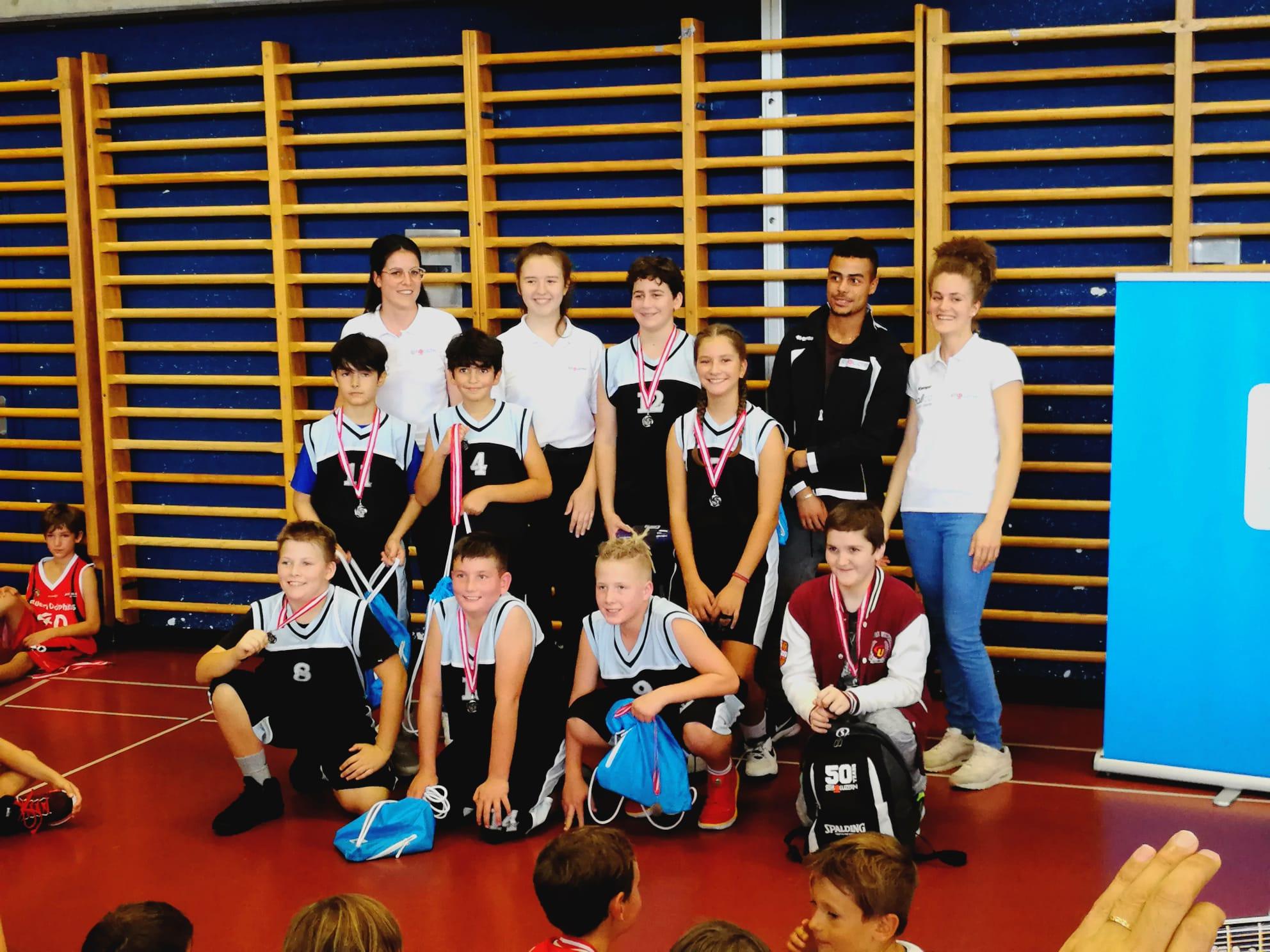 Die U13-Equipe erreichte den sehr guten 2. Platz