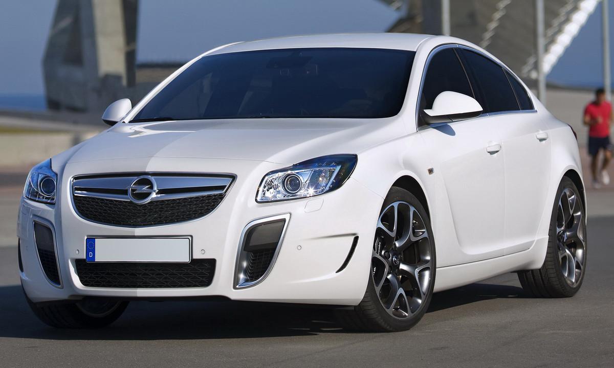 Opel Insignia vorher