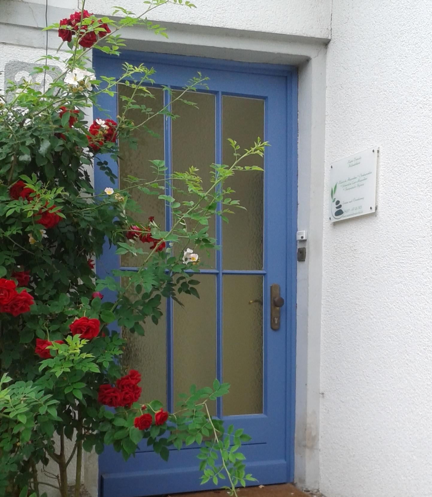 Praxis-Eingang, Knesestraße 22, Hoya
