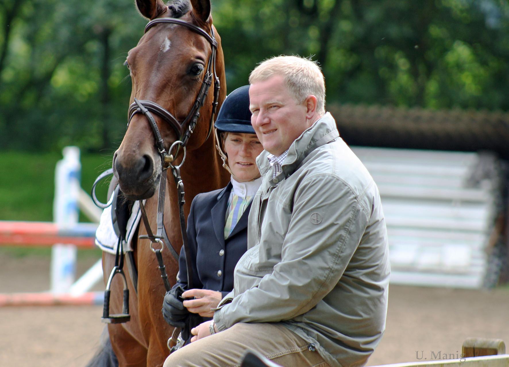 Ina und Werner Tapken