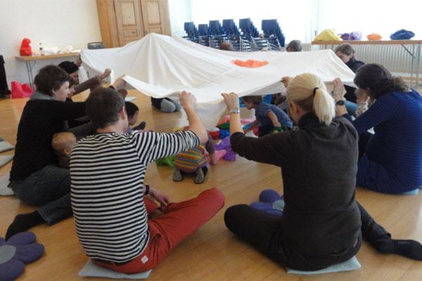 Eltern-Kind Singen mit Annette Flury-Jegge