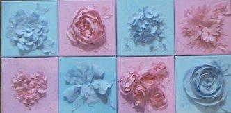 decoupages pastels 8x20x20