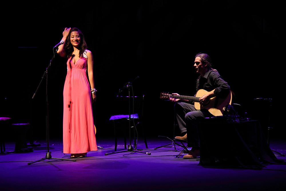 Marisa Tolentino con Julio García.  Foto: Ricardo Solanes