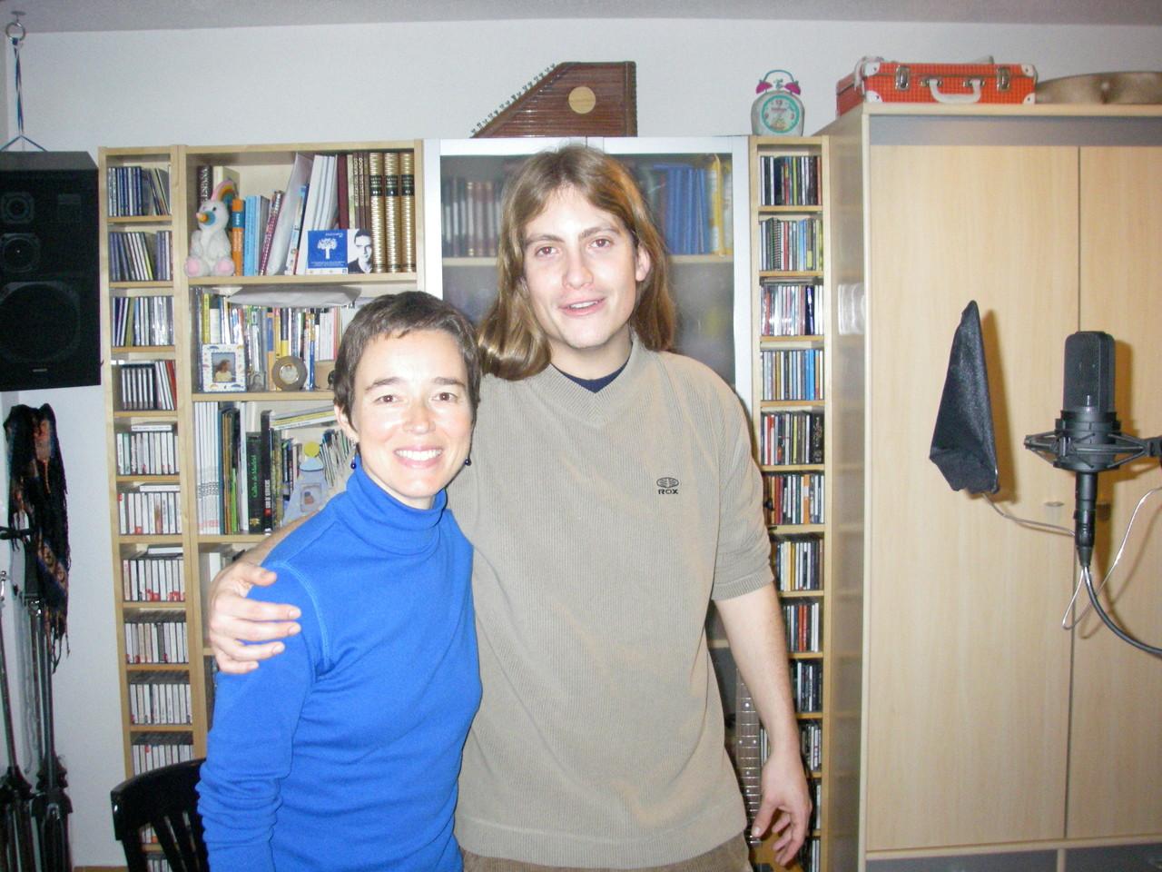 Carmen Ros con Grison