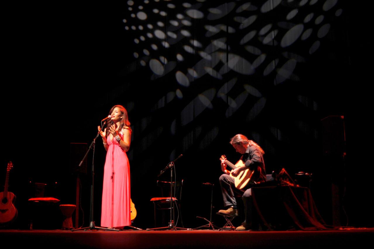 Marisa Tolentino con Julio García.  Foto: Miguel Molinares