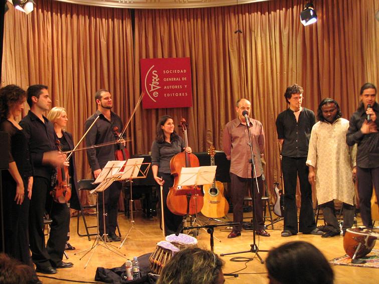 Teresa Barrientos, Ars Ensemble, Isidro Solera, Rodrigo Munuera, Nantha Kumar y Julio García