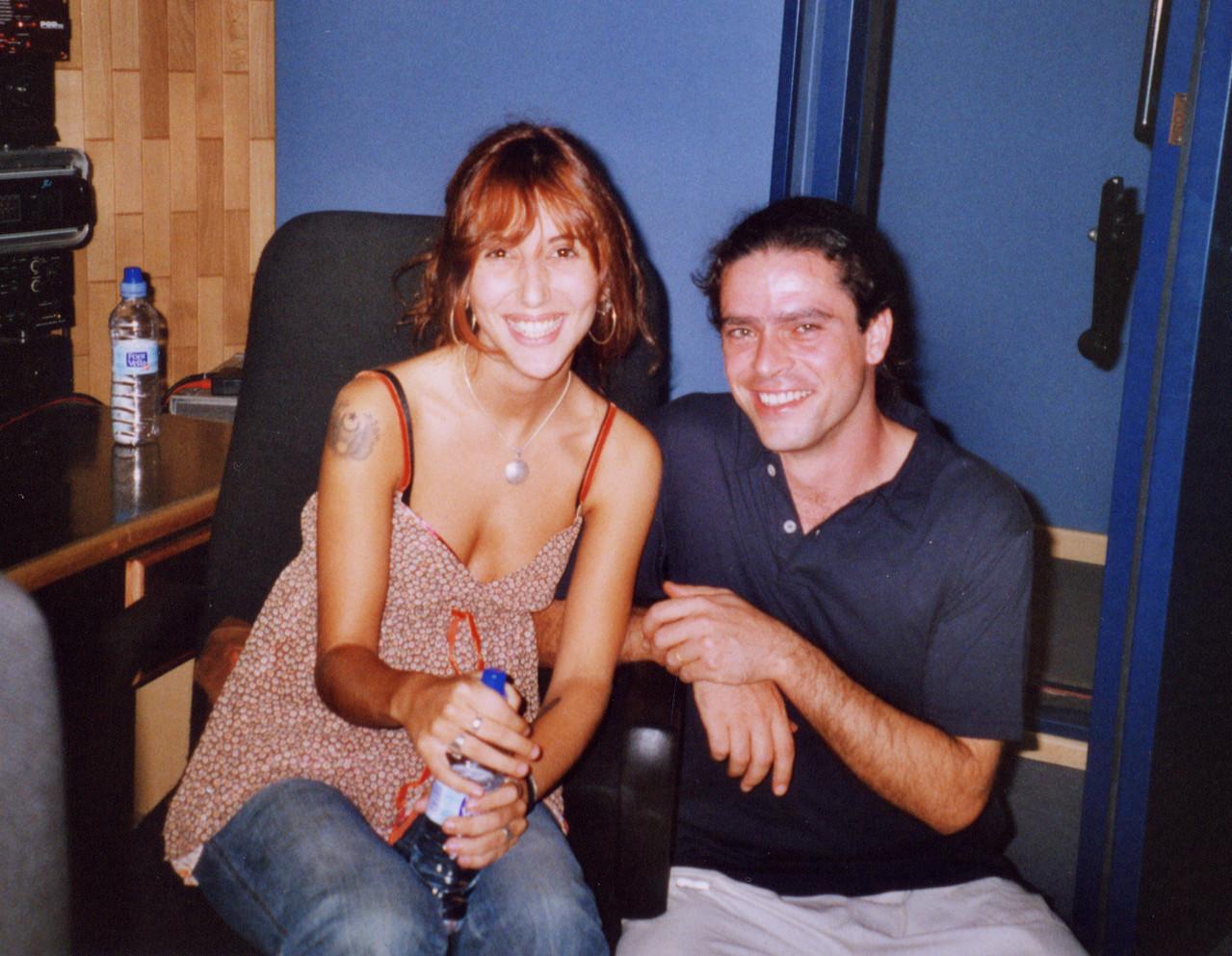 Laura Rubio con Julio García