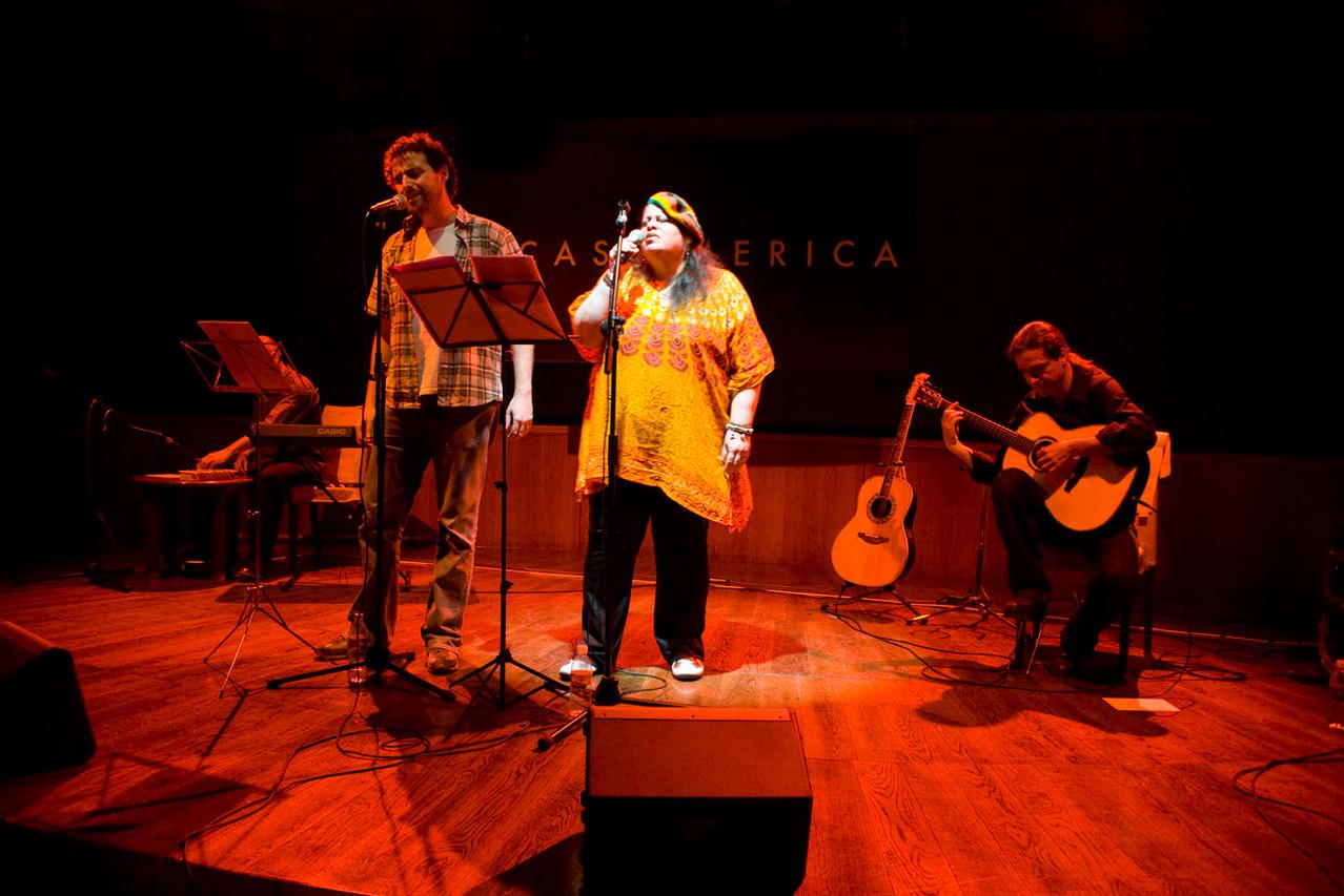 Luisão, Lenna Pablo y Julio García
