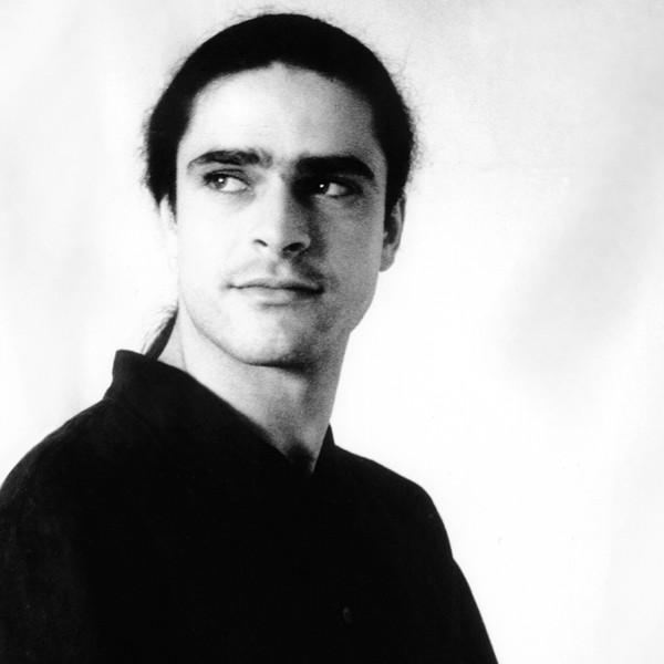 Julio García, foto para la carpeta de Paso a dos, por Jesús Clavel