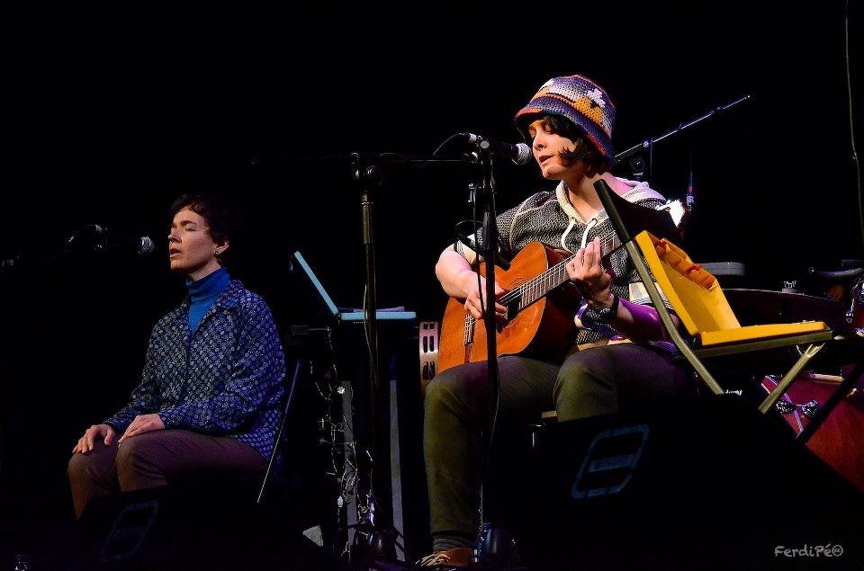 Yani Martinelli con Carmen Ros (coros)