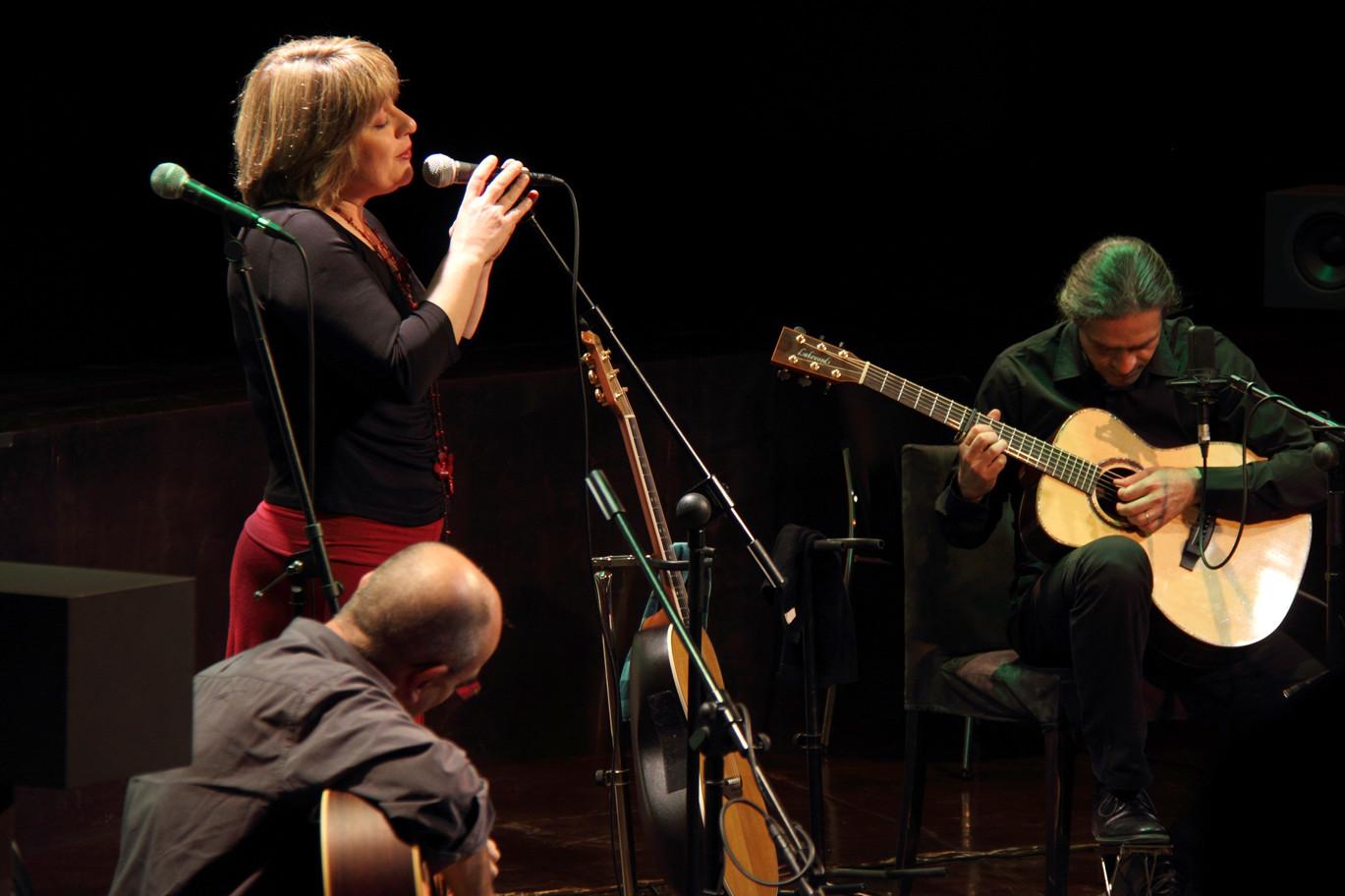 Ana Vassalo, Julio García e Isidro Solera