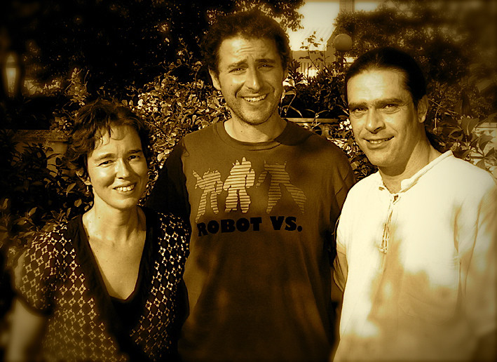 Carmen Ros, Luisão y Julio García
