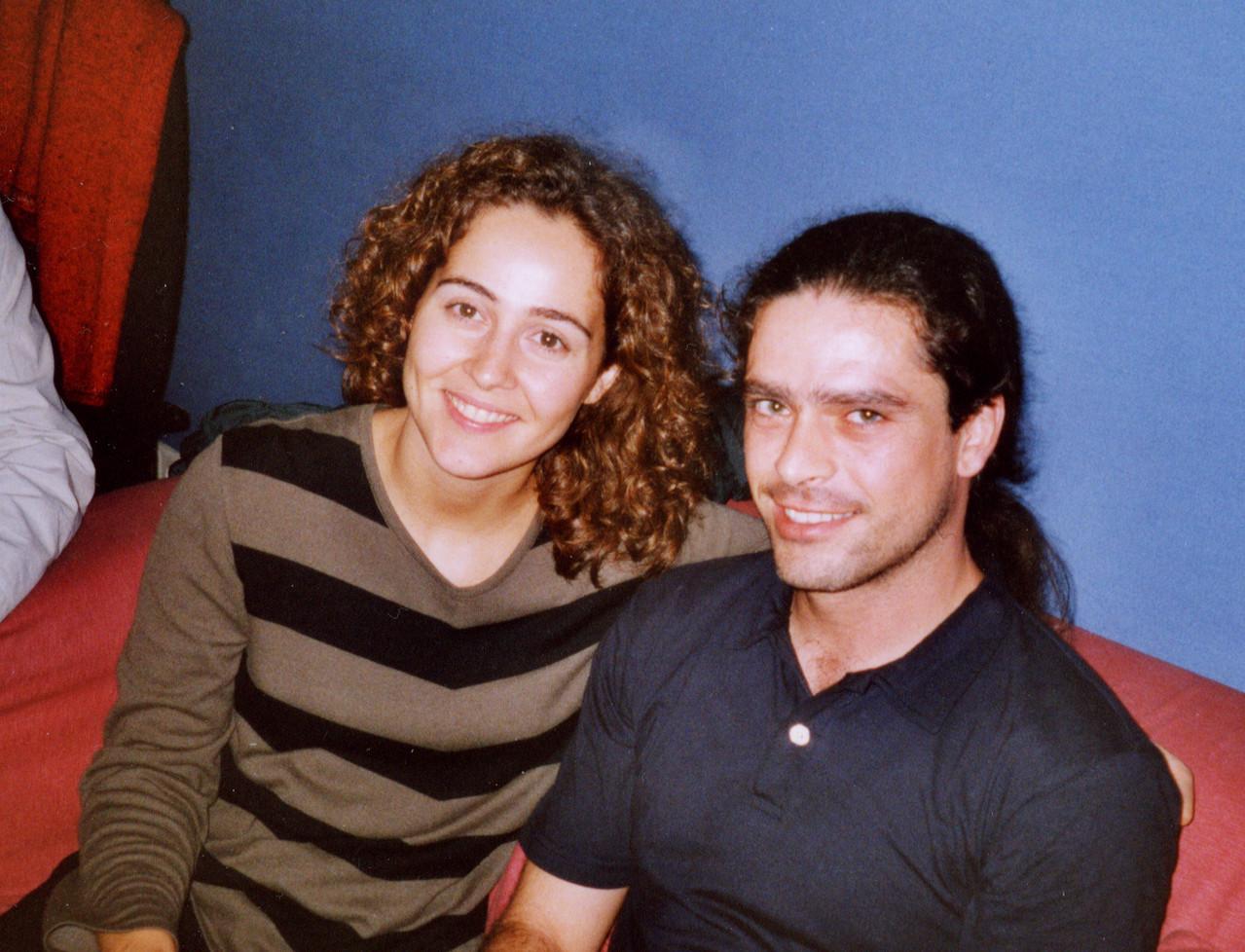Teresa Barrientos y Julio García