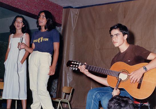 Primer concierto de Julio García