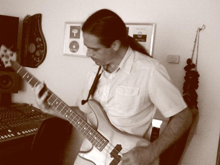 Julio García, grabación de The warmest place