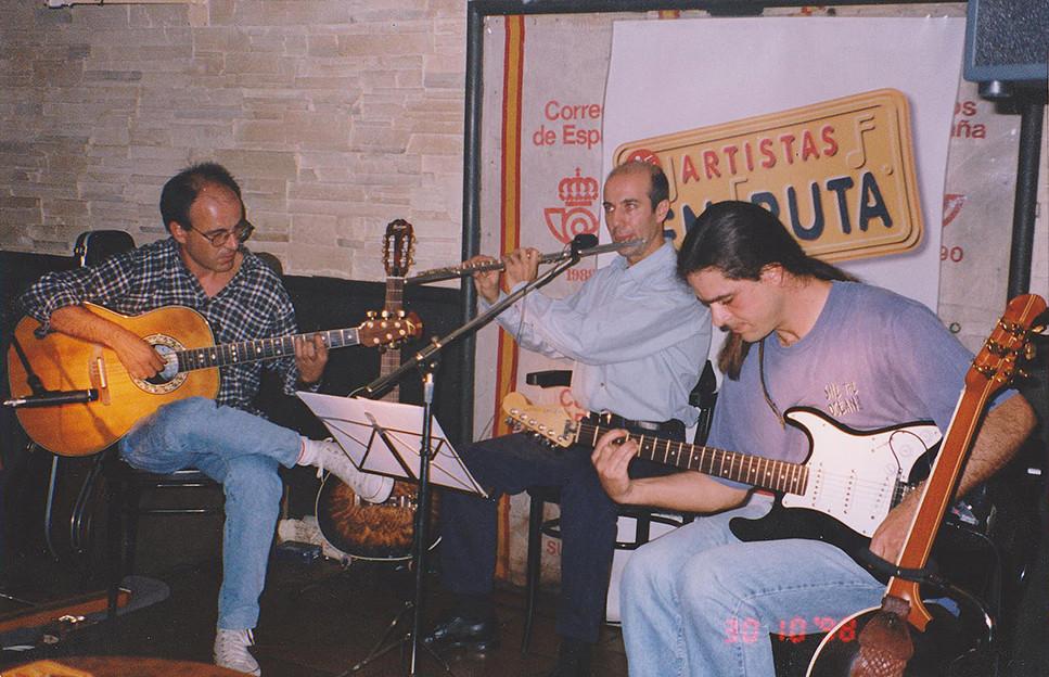 Isidro Solera, Julio Albertos, Julio García. Artistas en Ruta