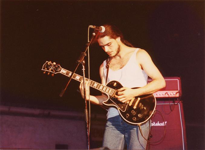 Julio García en el 91