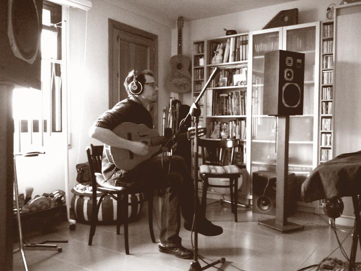 Rodrigo Martín Munuera, grabación de The warmest place. Arrurru
