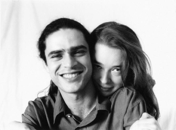 Julio García y Carmen Ros, durante las mezclas de Paso a dos