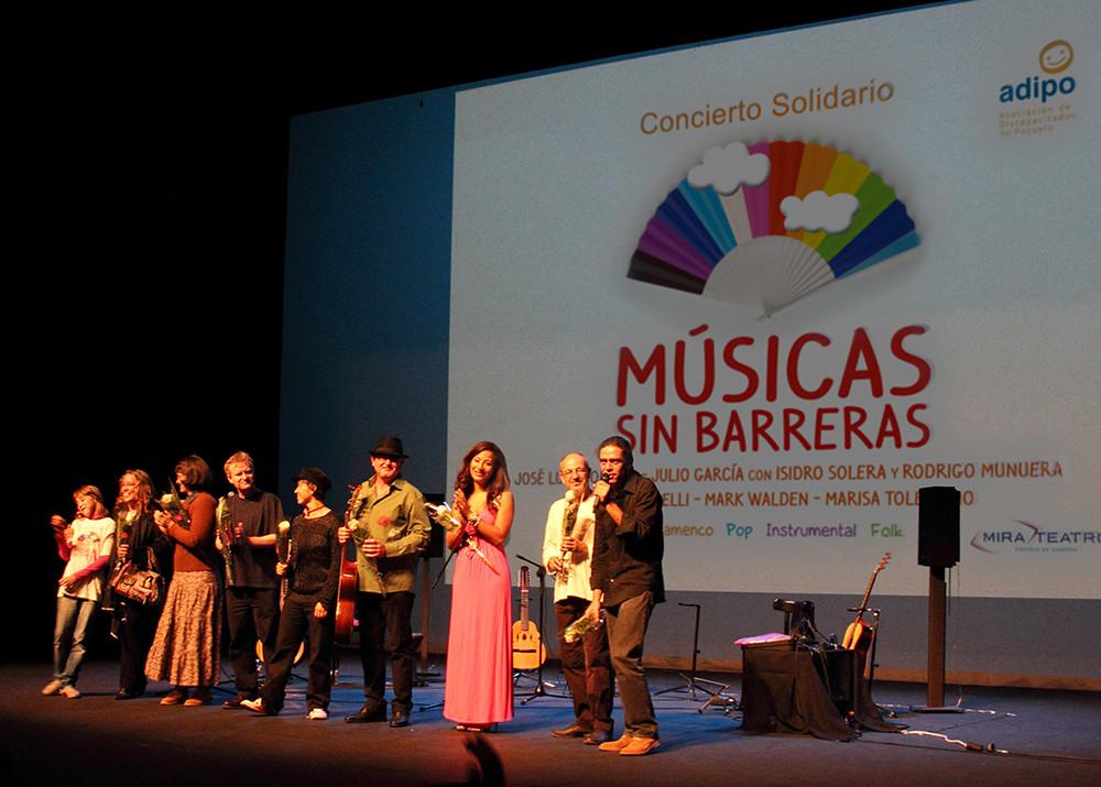 Los músicos del Concierto Músicas Sin Barreras. Foto: Ricardo Solanes