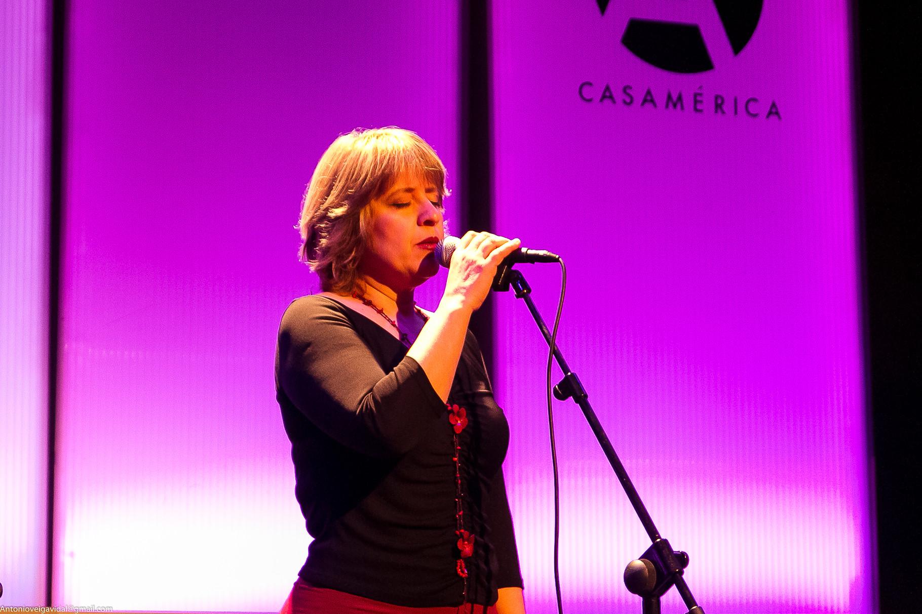 Ana Vassalo, concierto en Casa de América