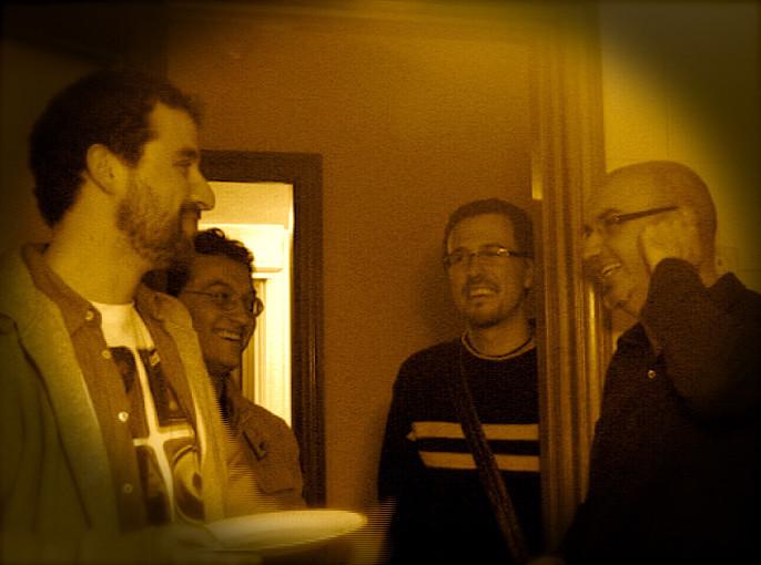 Luisão, Paulo Vieira, Rodrigo Munuera y Manuel Galán