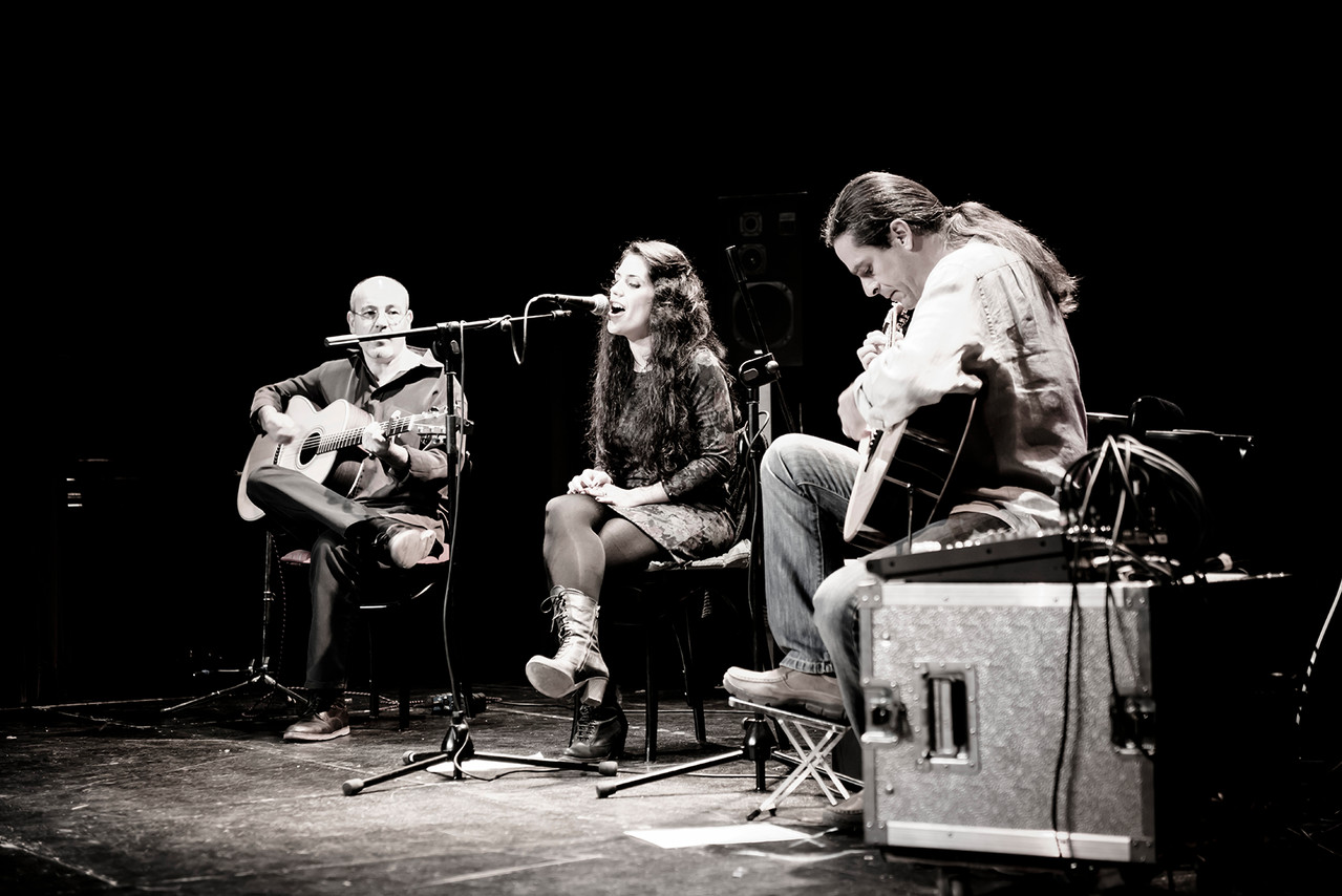 Isidro Solera, Lara Rosales y Julio García