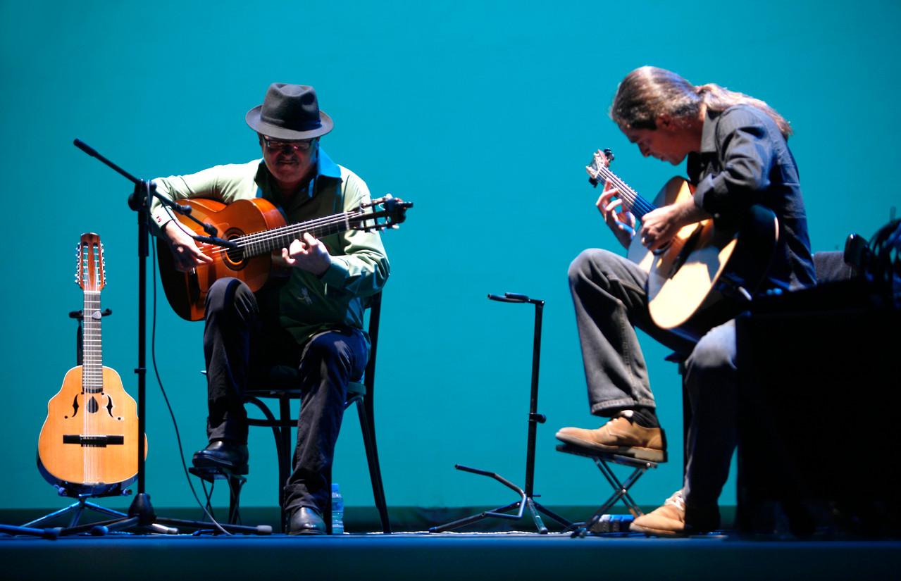 José Luis Montón y Julio García.  Foto: Miguel Molinares