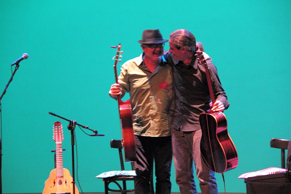 José Luis Montón y Julio García. Foto: Ricardo Solanes