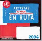 CD Artistas en ruta. 10 años