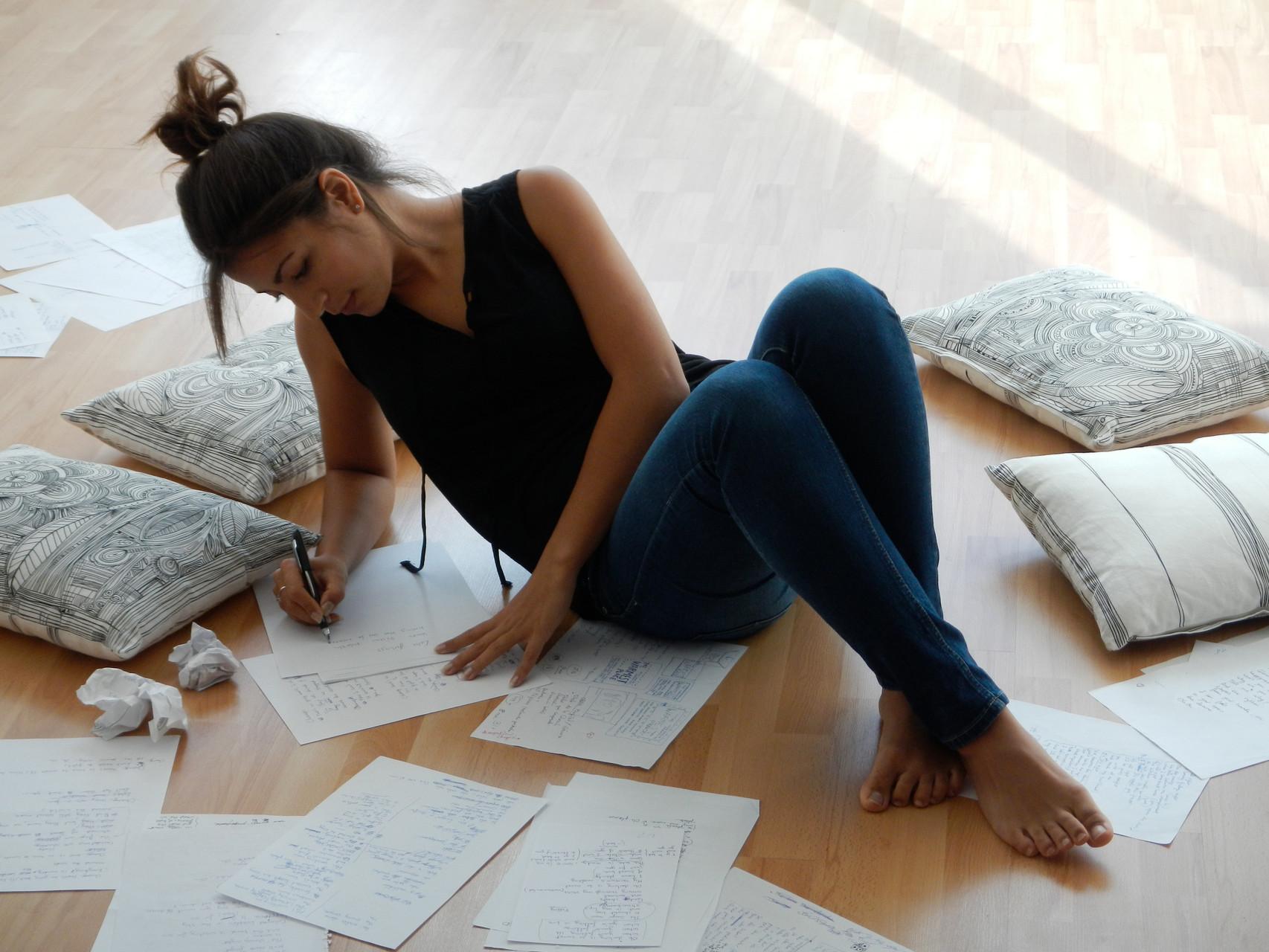 Marisa Tolentino, grabación del videoclip Papers