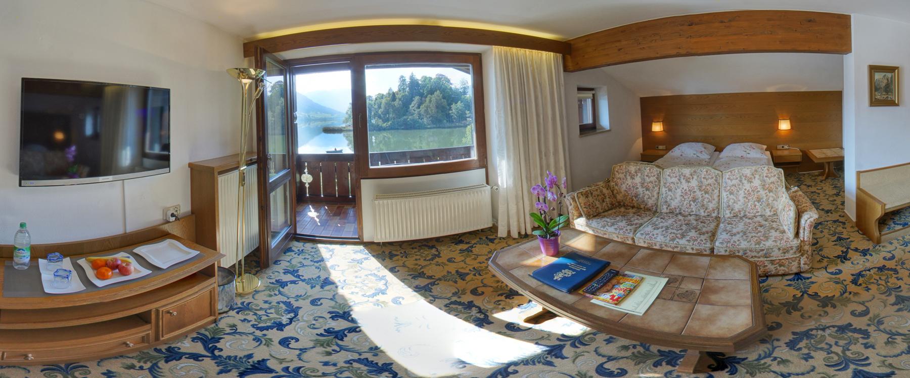 Wohn- & Schlafbereich Doppelzimmer