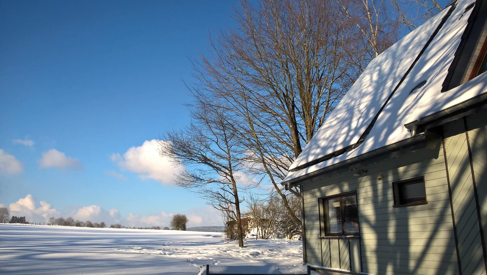 Ferienwohnung 'Am Schänzjen' im Schnee
