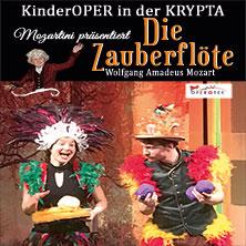 Mozartini präsentiert:  DIE ZAUBERFLÖTE - Wolfgang Amadeus Mozart